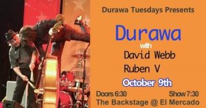 David Webb and Ruben V w/DURAWA @ El Mercado | Austin | Texas | United States