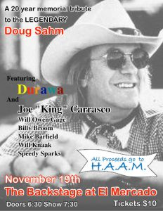 Doug Sahm Memorial with numerous guests @ El Mercado | Austin | Texas | United States
