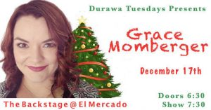 Grace Momberger Christmas Show - last show of 2019 @ The Backstage | Austin | Texas | United States