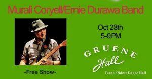 Gruene Hall 4pm W/Murali Coryell @ Gruene Hall | New Braunfels | Texas | United States