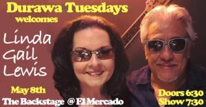 Linda Gail Lewis w/DURAWA at Backstage @ El Mercado | Austin | Texas | United States