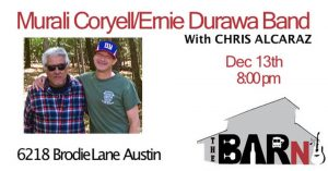 Murali Coryell w/DURAWA at the Barn @ The Barn | Austin | Texas | United States