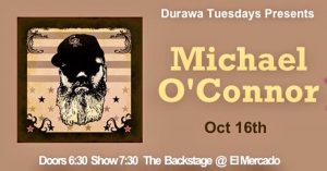 Michael O'Connor w/DURAWA @ El Mercado | Austin | Texas | United States