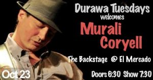 Murali Coryell w/DURAWA @ The Backstage | Austin | Texas | United States