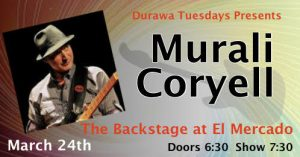 Murali Coryell w/DURAWA @ The Backstage | Austin | Texas | United States