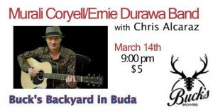 Murali Coryell w/DURAWA at Bucks Backyard in Buda @ Buck's Backyard | Austin | Texas | United States
