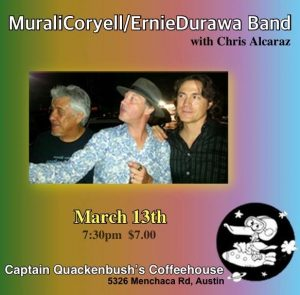 Murali Coryell w/DURAWA at Captain Quackenbush's Coffeehouse @ Captain Quackenbush's Coffeehouse | Austin | Texas | United States