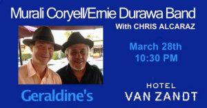 Hotel Van Zandt w/Murali Coryell @ Hotel Vanzandt | Austin | Texas | United States