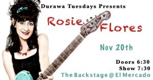 Rosie Flores w/DURAWA @ The Backstage | Austin | Texas | United States