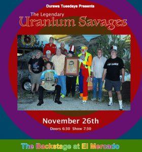 Uranium Savages w/DURAWA @ El Mercado | Austin | Texas | United States