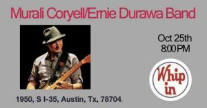 Whip In w/Murali Coryell @ Whip In | Austin | Texas | United States