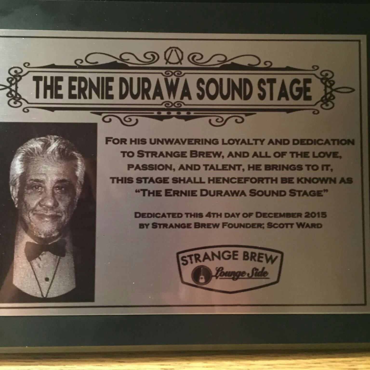 Ernie Durawa Sound Stage