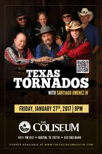 Texas Tornados @  Coliseo Austin