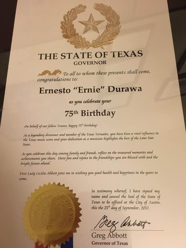 News | Ernie Durawa | Drummer & Teacher – Austin, Texas